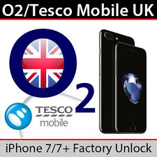 O2uk / Tesco Mobile iPhone 7/7 PLUS FACTORY UNLOCK Service