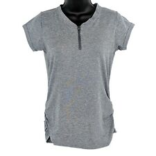 NEW Club Ride Womens XS Grey Short Sleeve Cycling Jersey Deer Abby Zip Shirt Tee