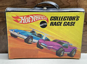 VINTAGE HOT WHEELS 1969 COLLECTORS RACE CASE - RED LINE