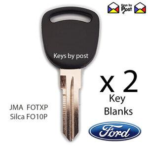 2 X FORD KEY BLANK TX / TC Cortina Escort Fiesta Capri Sierra Transit Granada