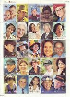 Australia Post Decimal Sheet - 2000 - Face of Australia - Midi Sheet - MNH