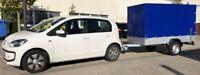 Anhängerkupplung AHK VW Volkswagen Up mit Elektrosatz 13-polig auch Eco-Up