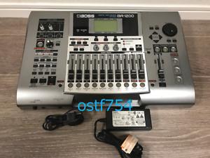 Boss BR-1200CD Digital Recording Workstation 12 Titel Hergestellt IN Japan