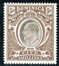 Dominica Edward VII Era (1902-1910) Stamps