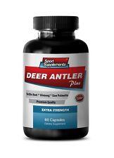 testosterone booster sex - DEER ANTLER PLUS 550MG 1B - elk antler drops capsules