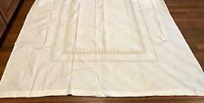 POTTERY BARN KIDS EMBROIDERED BRODEE Duvet Cover METALLIC GOLD White TWIN  NWT