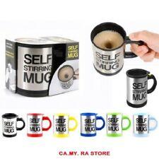 IDEA REGALO TAZZA AUTOMESCOLANTE PER CAFFE LATTE CAPPUCCINO SELF STIRRING MUG