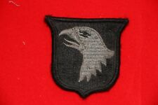 GENUINE US ARMY ISSUE CLOTH ACU 101ST AIRBORNE PATCH ORIGINAL NOT CHINESE COPY
