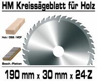 Profi HM Kreissägeblatt Sägeblatt 160x20mm 40 Zähne für holz NE Metalle Kappsäge