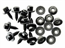Plymouth Body Bolts & Barbed Nuts- M6-1.0mm x 20mm Long- 10mm Hex- Qty.20- #124
