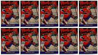 (10) 1992 Prime Pics #61 Patrick Roy Hockey Card Lot Montreal Canadiens