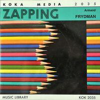 Zapping Armand Freedman AV Stock Music CD Koka Media KOK 2035 Production Library