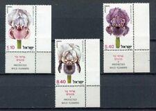 38559) ISRAEL MNH** 1978 Flowers 3v