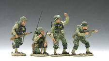 King & Country D-Day WWII DD48 On The Beach Set B DD048 Retired