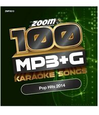 Zoom Karaoke 100 MP3+G Hits Of 2014  - DVD-ROM - Computer / MP3+G player