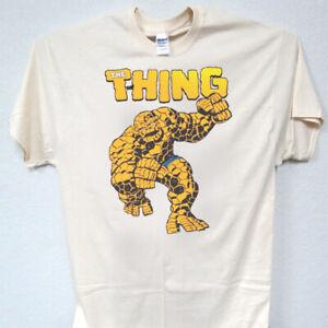 THE THING,Fantastic Four,Marvel,Retro Ivory, T-Shirt Sizes: S-5XL, T-1510, L@@K