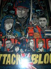 Tyler Stout Mondo Attack the Block Poster Limited Edition Silkscreen Print 2013