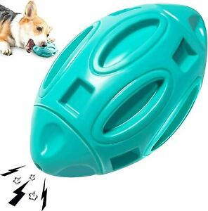 Dog Toys for Aggressive Chewers Medium Large Breed Indestructible -Blue Rugby