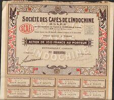DECO => CAFÉS de l'INDOCHINE (P)