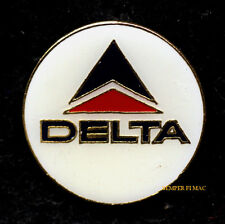 DELTA AIRLINES HAT LAPEL PIN UP AIRLINE WING PILOT CREW GIFT LOGO SEAL AIRLINE