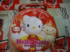 Hello Kitty - La serie Completa - Nuevo - Maletín Metálico - 26 Capítulos 5 DVD