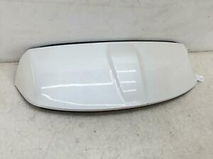 2016-2018 LINCOLN MKX LIFTGATE TRUNK LID SPOILER WHITE (UG) OEM 2017 *SCRATCHES*