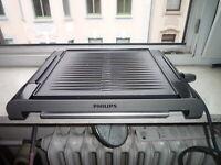 Philips HD4417/20A Tischgrill, 2000 Watt schwarz,  Balkon Elektrogrill