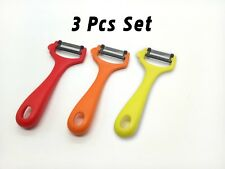 3 Pieces Y-shape peeler,Assorted Colors