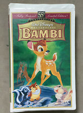 Bambi VHS Disney Masterpiece Collection. 55th Anniversary Limited Edition 9505