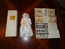 """Vintage 8"""" Bisque Porcelain Laughing Baby Averill 1981 Shackman Origional Box"""