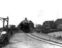 "1907 Nantucket Railroad Engine #1 , Massachusetts Old Photo 8.5"" x 11"" Reprint"