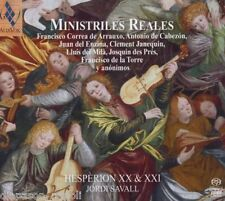 Ministrel Reales (Royal Minstrels Of The Golden Age) / Savall, Hesperion XX SACD