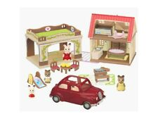 Kabaya    == NEW  2020  Epoch Sylvanian Families House and Car 4pcs
