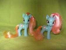 G4 My Little Pony 2011 FiM Single & Canterlot DEWDROP DAZZLE Lot of 2 Variations
