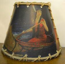 Indian Maiden Night Light, Rustic Cabin Decor