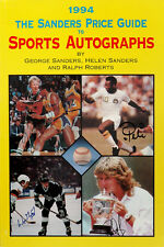 The Sanders Price Guide to Sports Autographs by George Sanders - Signed 1994 PB