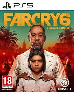 Far Cry 6 (PS5) Pre Order Out 7th Oct Brand New & Sealed Free UK P&P