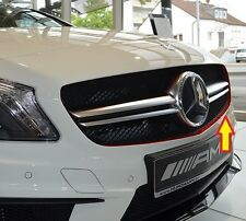 NEW GENUINE MERCEDES BENZ MB A CLASS W176 AMG EDITION1 RED GRILL STRIP ADHESIVE