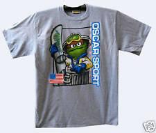 New Sesame Street T-Shirt OSCAR SKI  SPORT Comic XL Neu