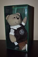New Starbucks 2016 PIKE PLACE STORE Bearista Boy Teddy Bear Barista Xmas Ltd Ed.