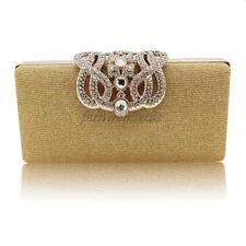 Women Bling Evening Clutch Bag Crystal RhinestoneBridal Wedding Handbag Purse