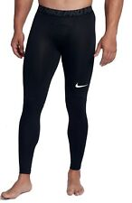 Nike Herren Trainings Fitness Hose NIKE PRO TIGHT schwarz
