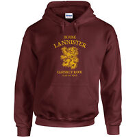 205 House Lannister Hoodie sigil lion thrones castle king imp tyrion