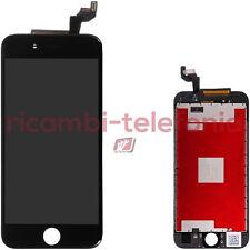 vetrino touch Apple A1688 iPhone 6s nero vetro touchscreen display LCD schermo
