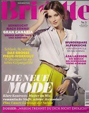 Brigitte 3 / 2013: Gran Canaria, Alpenküche Käsespätzle, Asa Larsson in Schweden