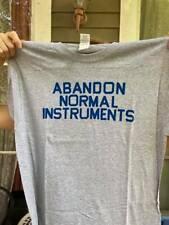 Brian Eno Abandon Normal Instruments T Shirt