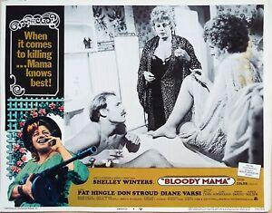 Bloody Mama 1970 Roger Corman  Shelley Winters Original US Lobby Card