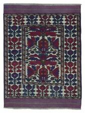 Rectangle Geometric Afghan 2000-Now Area Rugs