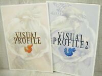 VALKYRIE PROFILE Lenneth Visual Profile Art Book Set 1 & 2 Works Ltd Booklet *