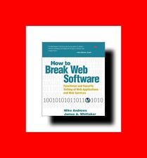 Hacker Cd+Book:How To Hack#Break Web Software:Functionl Security Hacking+Testing